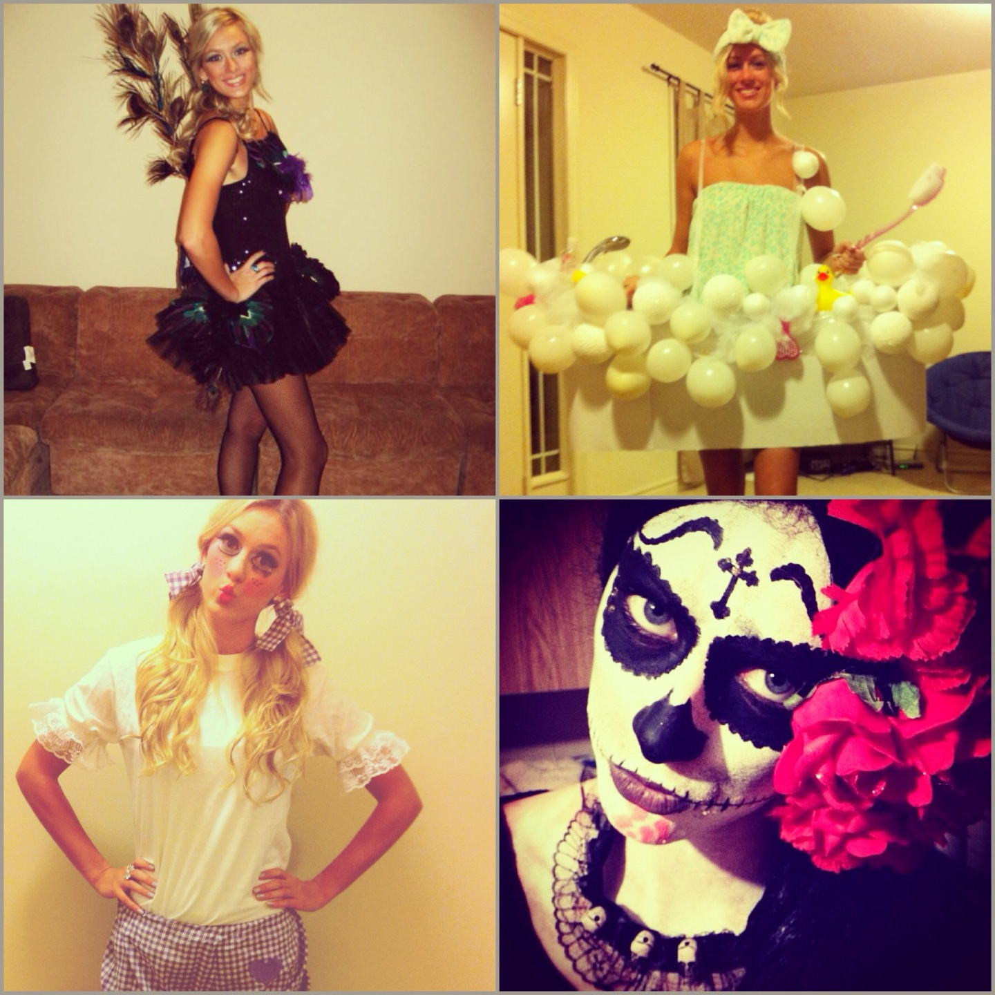 Ghosts Of Halloween Costumes Past