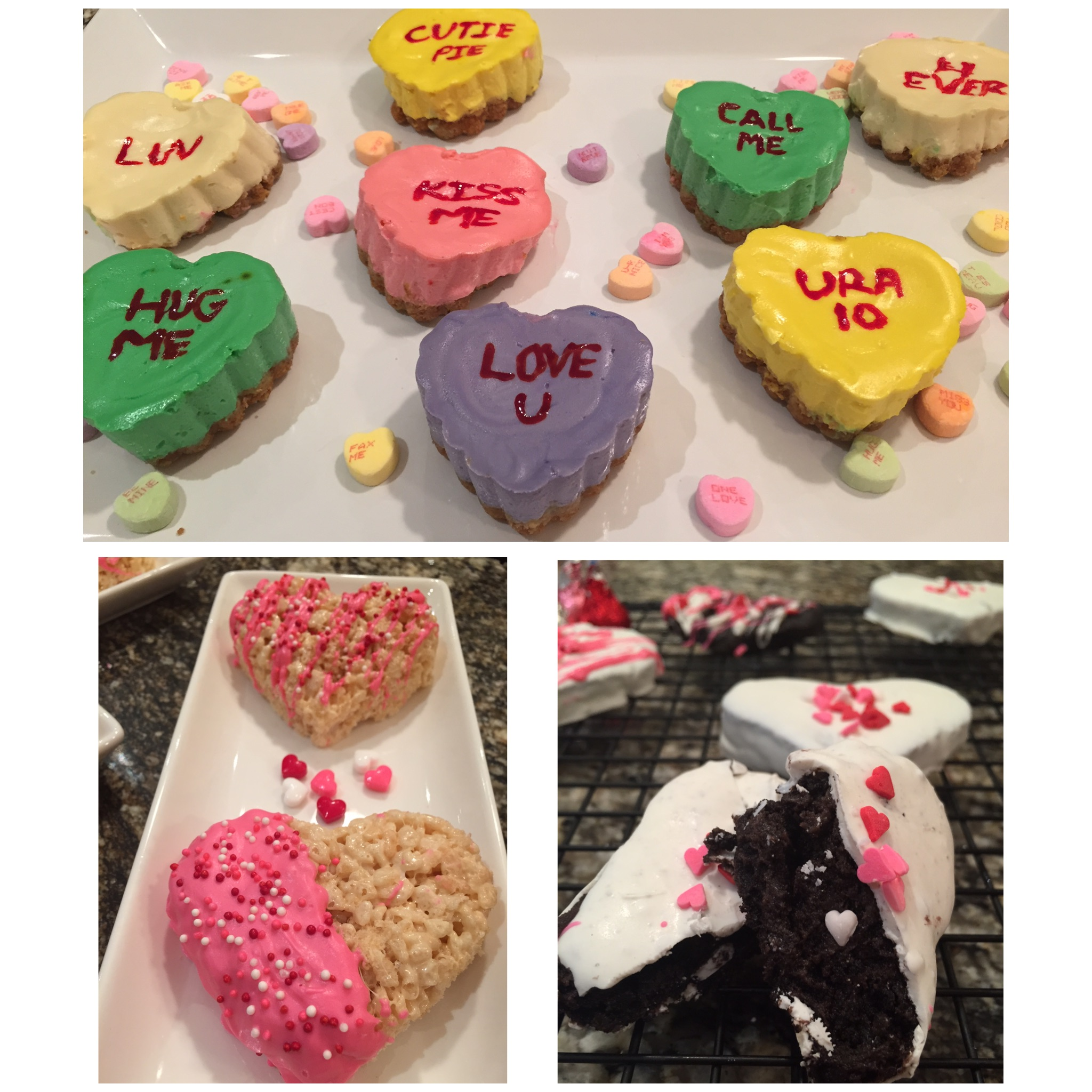 3 Sweet Treats- Valentine's Day Edition!