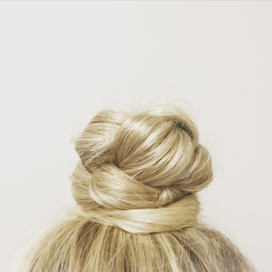 Easy Braided Top-Knot Bun: Hair Tutorial