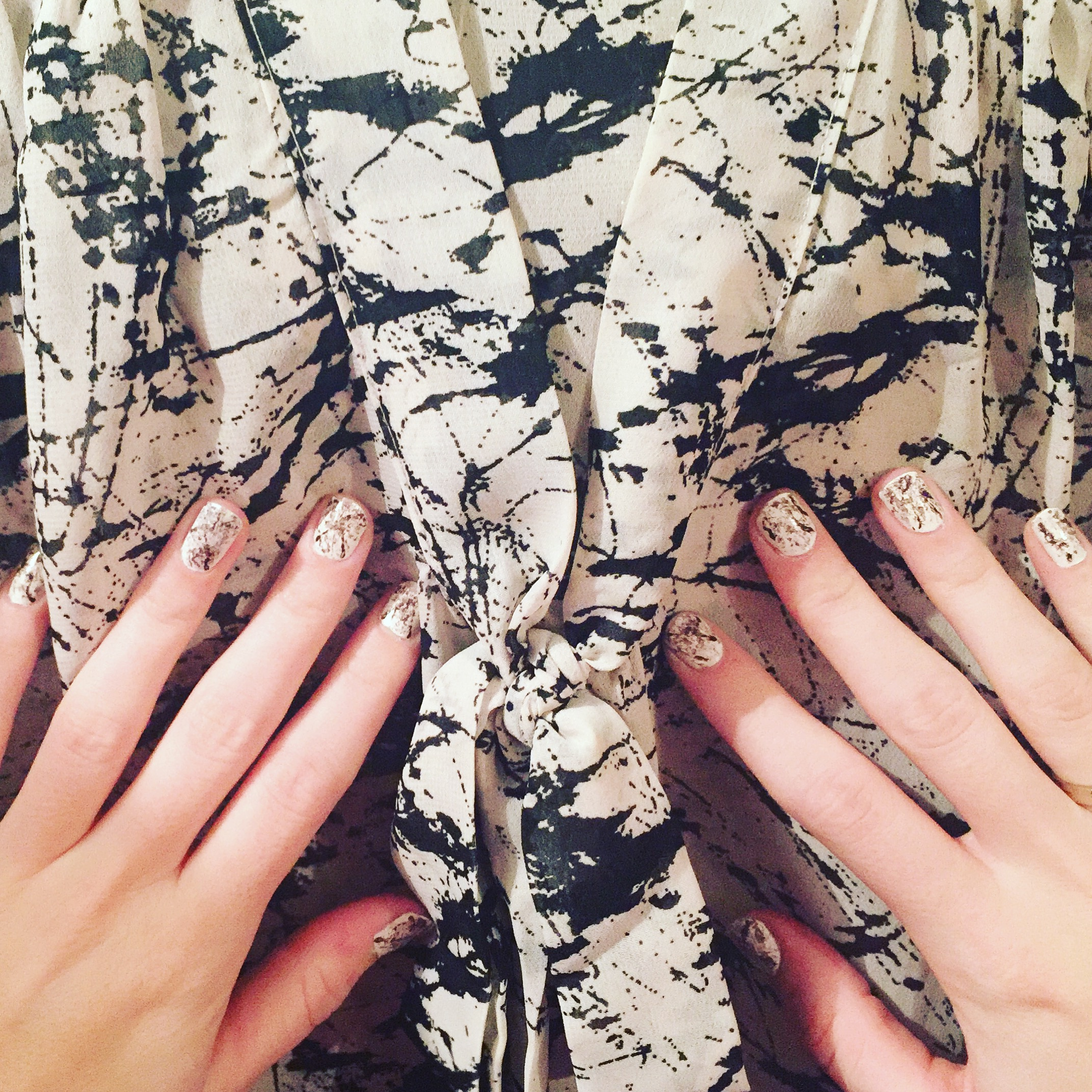 MARBLE-ous nails!