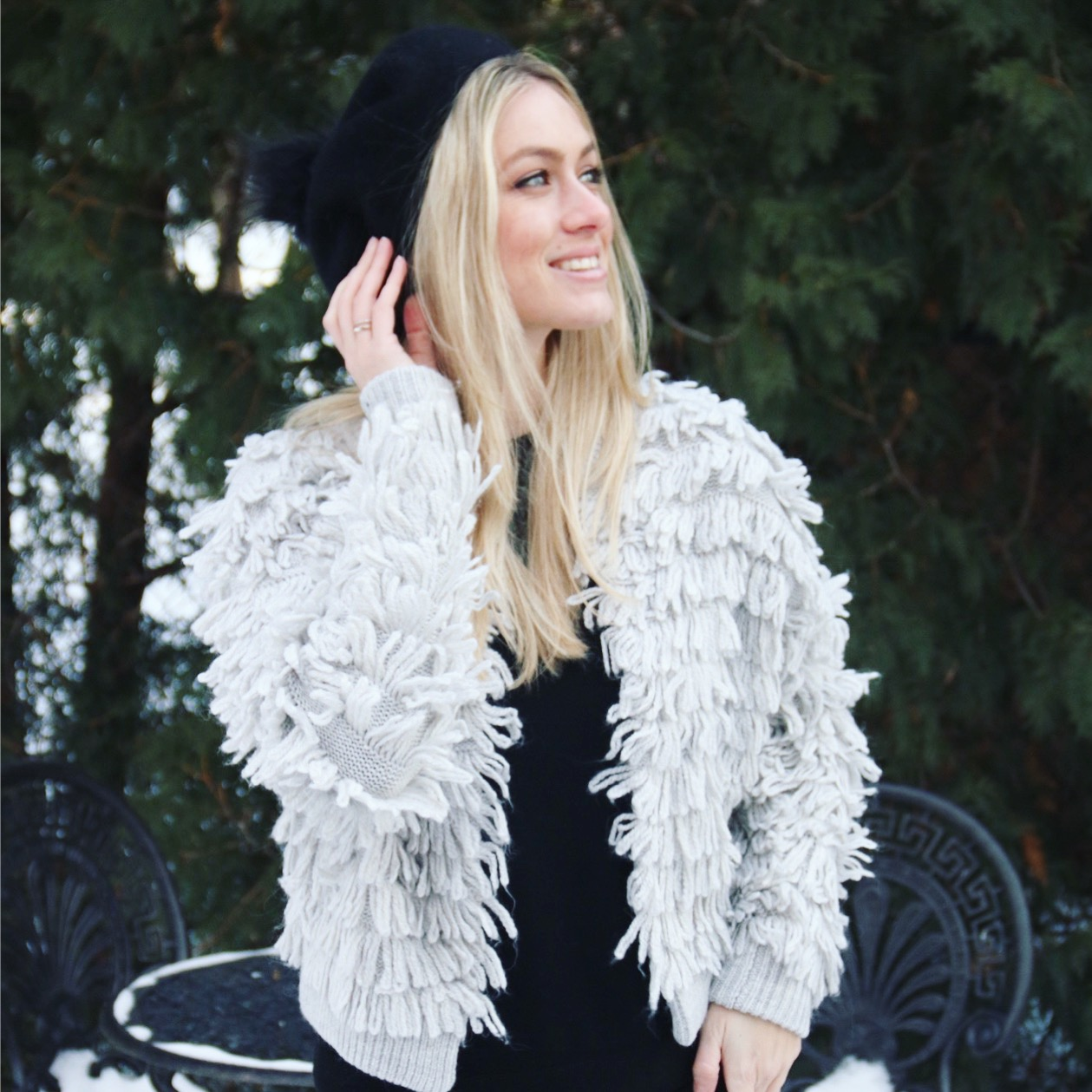 Fringe-Worthy Cardigan