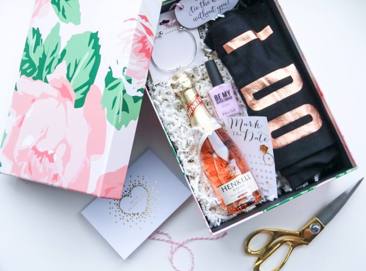 Will You Be My Bridesmaid? Bridesmaid Proposal Boxes.